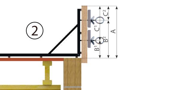 Randfix Technische Zeichnungn zur Montage