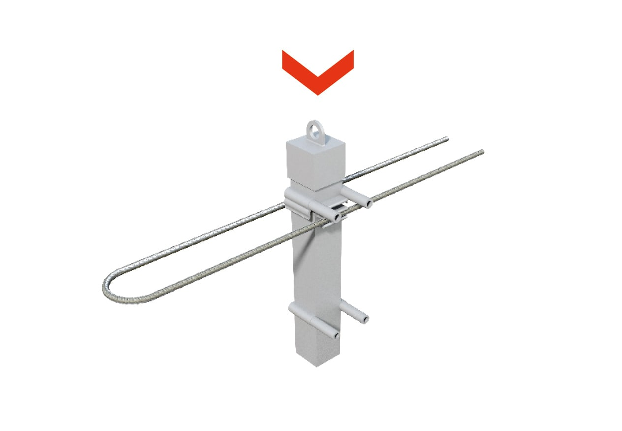 Steckpfosten kompatibel mit Absperrhülse
