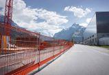 Auch für Baustellenabschrankungen ist Safe-Gard ideal geeignet