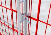 Safe-Gard gesichert mit Klemme