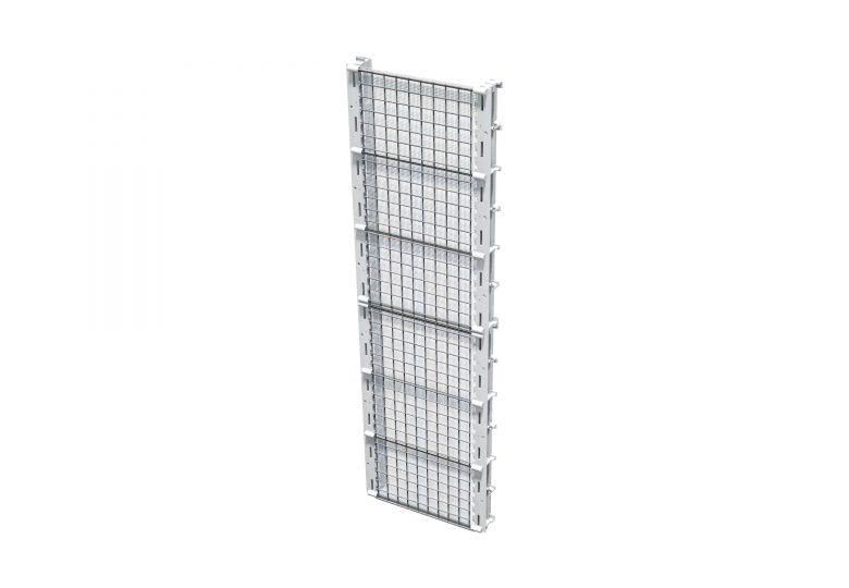 Net-Form für die Wände